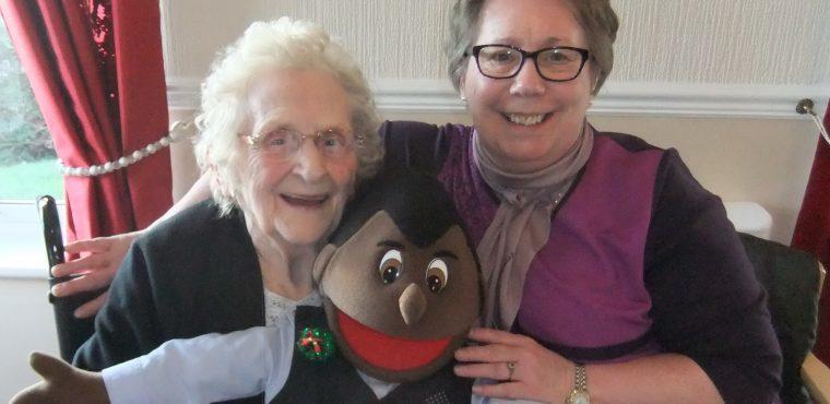 Puppet show benefits Peterlee's elderly with dementia