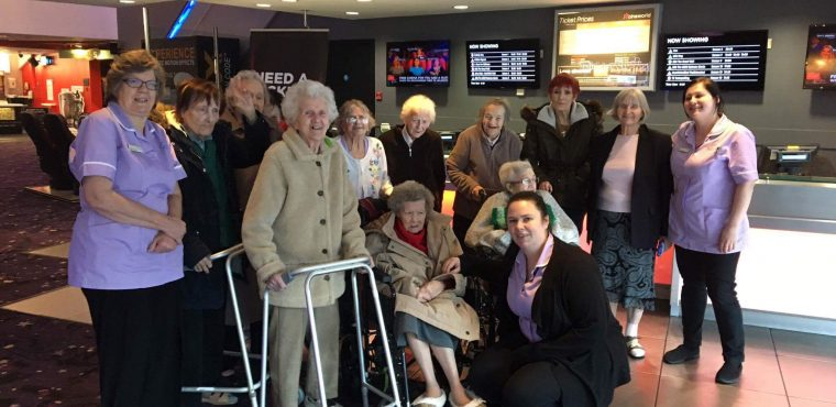 Dementia friendly Calamity Jane screening for Teesside's elderly