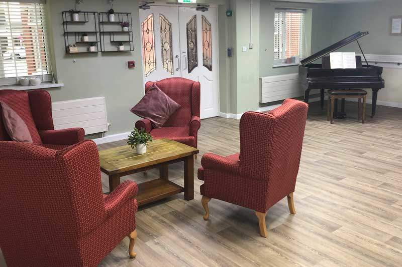 reception residential care home Cheshire