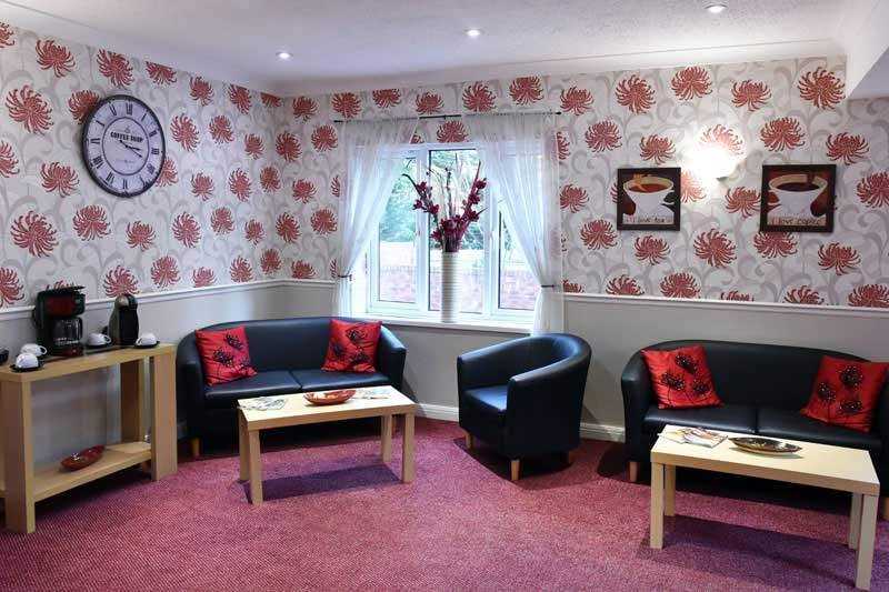 residential care home Newtown