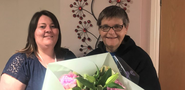 Care home volunteer Ruth rewarded by residents and staff