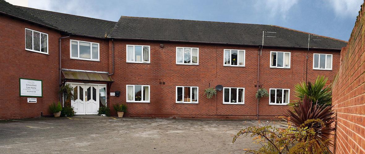 simonsfield dementia residential care home Runcorn Cheshire
