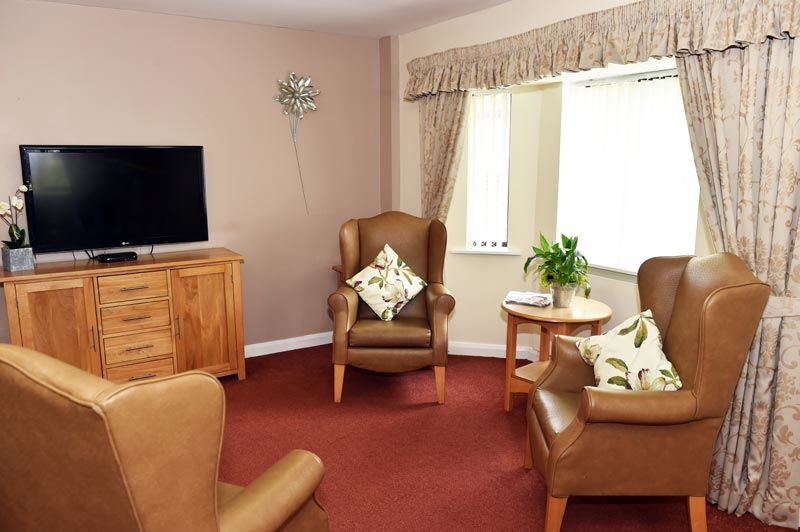 sitting room dementia care home Blyth