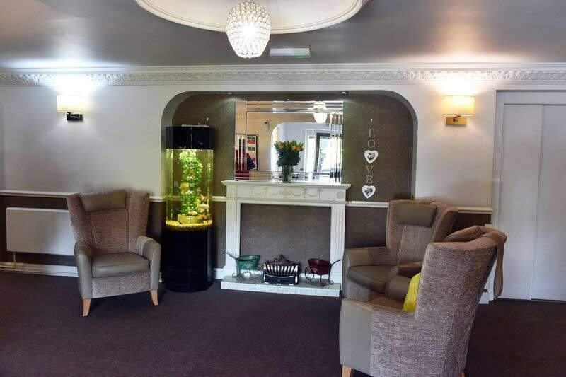 sitting room Huddersfield care homes