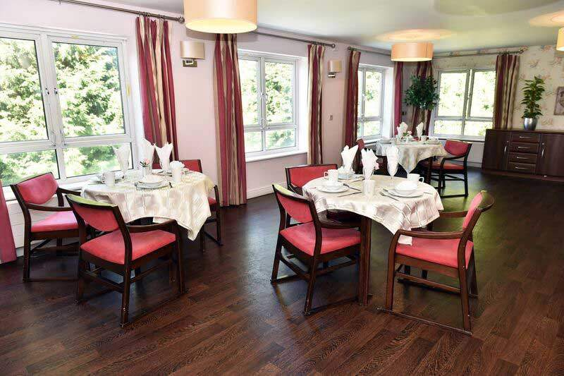 Skelmersdale care home dining room Lancashire
