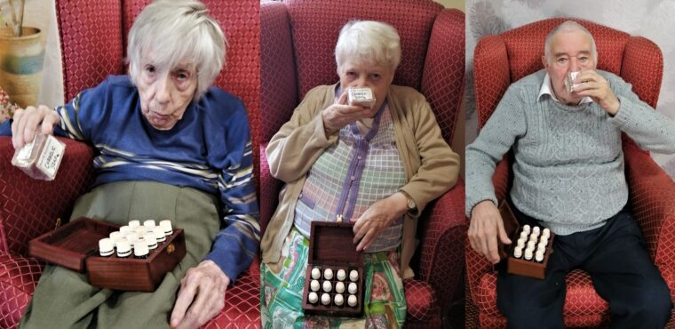 Smells spark memories for care home residents