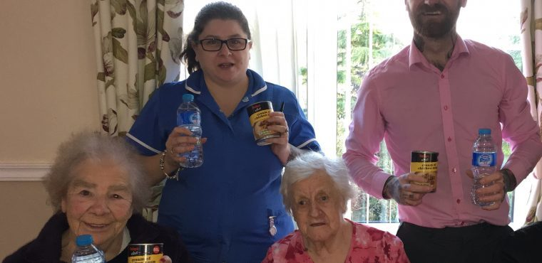 Homeless get helping hand and hot soup from care home