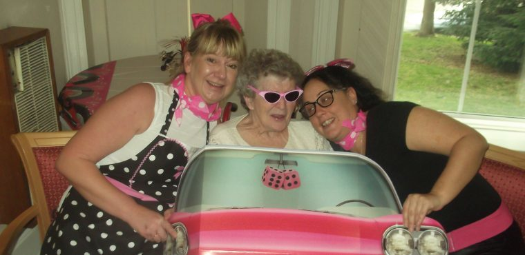 Care home's 1950s USA party to celebrate Dignity Action Day