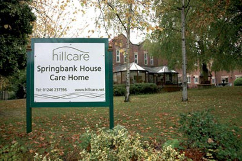 springbank house care derbyshire