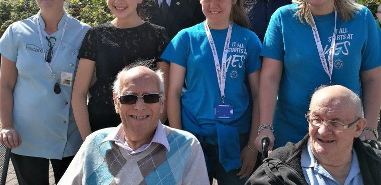 Fun in the summer sun for Hartlepool's elderly