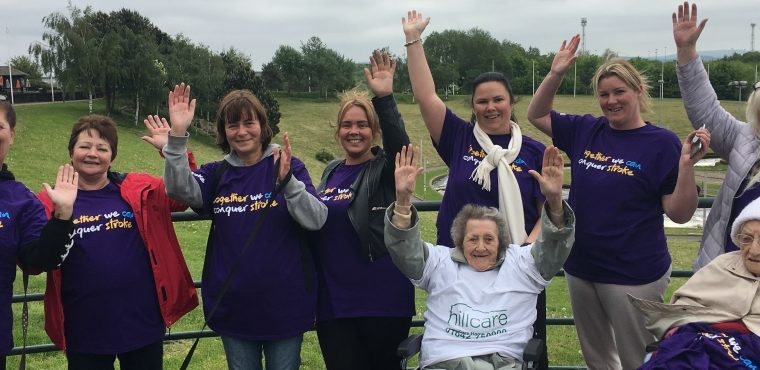 Tees Barrage sponsored walk for care homes