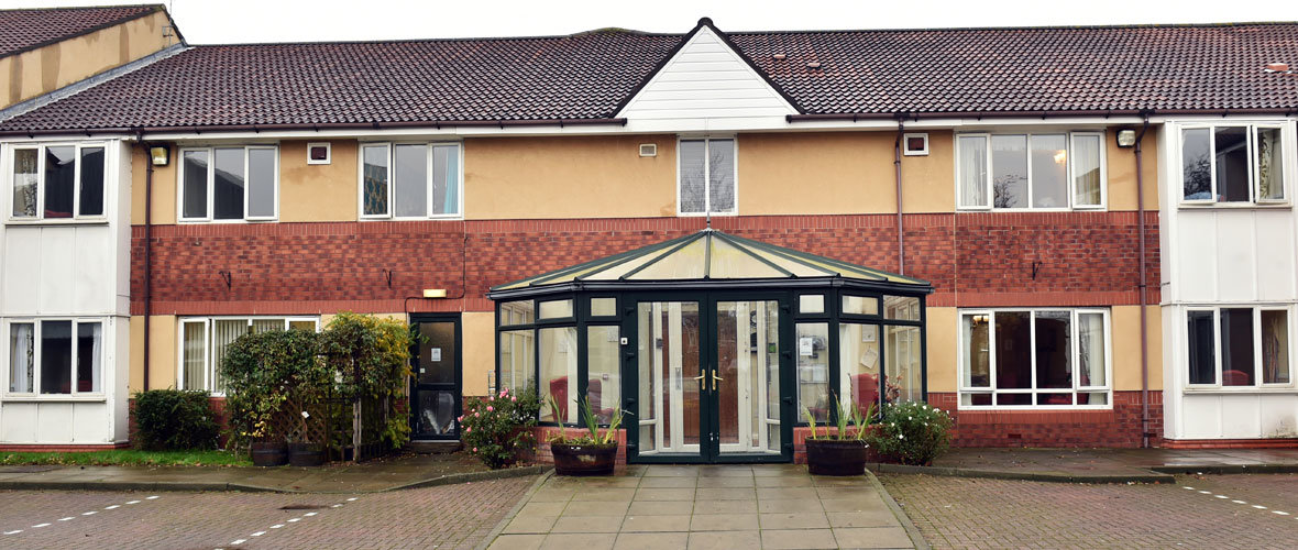 The Gables care home Middlesbrough Teesside