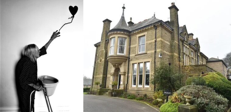 Care home's Banksy inspired artwork wins competition