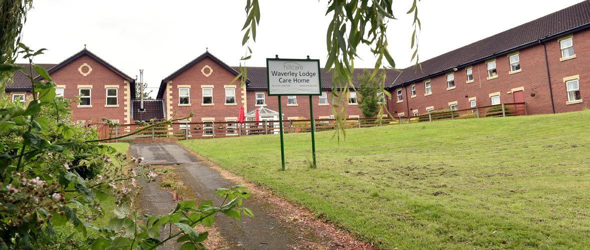 waverley lodge care home in Lemington Newcastle
