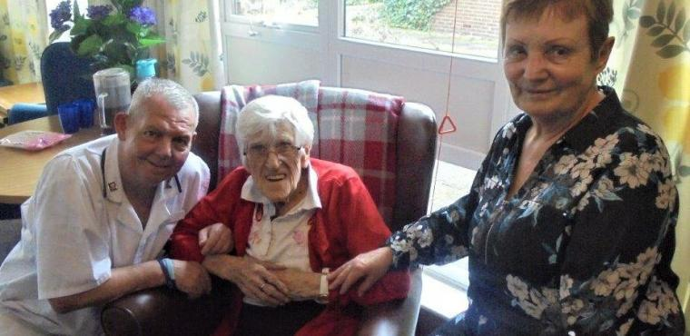 Married care home couple retire after combined 42 years