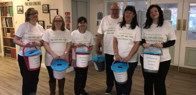 Supermarket bag pack raises funds for care home flower beds