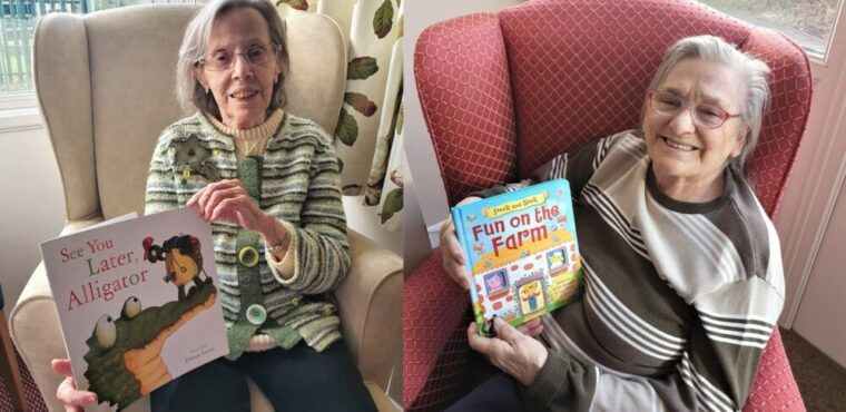 Elderly read for youngsters on World Book Day 2021