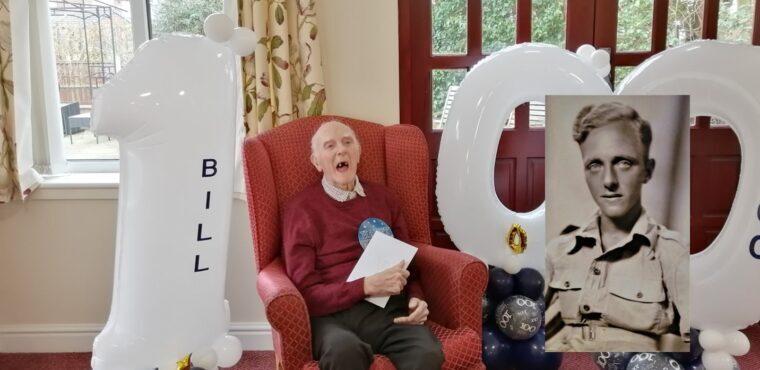 100th birthday for WW2 veteran Bill